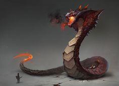 Snake, Anima 08 on ArtStation at https://www.artstation.com/artwork/K1LYB