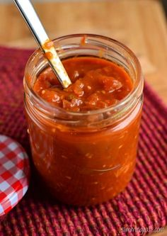 Slimming Eats Tomato and Red Onion Relish - gluten free, dairy free, vegetarian, paleo, Slimming World (SP) and Weight Watchers friendly