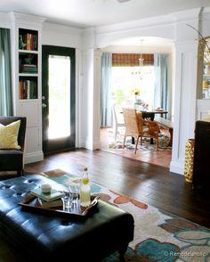 Living Room Columns interior columns velvetandlinen | dresser table, columns and dresser