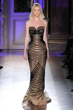 Zuhair Murad Couture Spring 2012... obsessed. jealy of this model's waistline!
