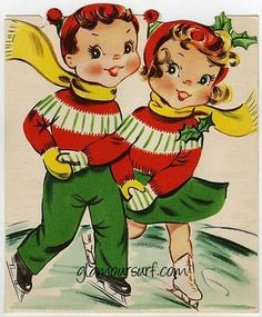 old christmas cards | Christmas - Vintage Cards