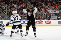 December 11, 2015 vs. Los Angeles: Eric Fehr and Evgeni Malkin scored in regulation, but the Pens couldn't convert in the shootout. Final score, 3-2 Kings (SO).