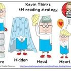 """""""Kevin Thinks"""" resource to support learning about ASD. This 4H reading strategy resource supports close reading, using text evidence and is fabulous for inferring from the illustrations."""