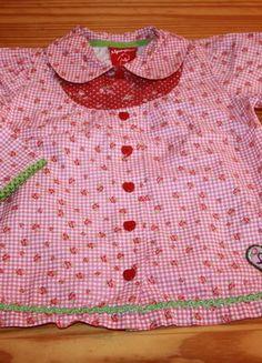 Kaufe meinen Artikel bei #Mamikreisel http://www.mamikreisel.de/kleidung-fur-madchen/langarm-blusen-und-hemden/34545565-mega-susse-bluse-tunika-von-bondi-gr-104-3