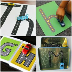 Activities for Car Crazy Kids - use your toy car collection to its full potential with this amazing list of activities to do with cars. Plenty of ideas for maths, literacy, early science, pretend… Eyfs Activities, Nursery Activities, Indoor Activities For Toddlers, Train Activities, List Of Activities, Cars Preschool, Preschool Literacy, Early Literacy, Kindergarten Activities