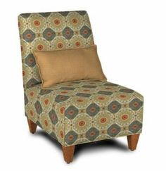 """Broadway Chair 26""""L x 35""""D x 37""""H Other fabric,finishes, and slipcover available"""