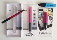 Styluses for kids and moms (the chubby one is perfect for little fingers!)