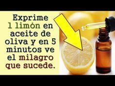 Exprime 1 limón en aceite de oliva y en 5 minutos ve lo que sucede ! - YouTube