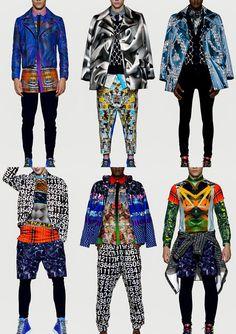 Basso & Brooke Studio   Autumn/Winter 2014 catwalks Pop Fashion, Fashion Prints, World Of Fashion, Runway Fashion, Vintage Fashion, Mens Fashion, Fashion Design, Psychedelic Fashion, Burning Man Outfits