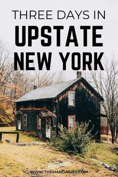 Discover an amazing getaway from New York City with our favorite Upstate New York itinerary! We're sharing how to spend three days in Upstate New York hikes in the Catskill Mountains small towns and scenic drives. Save this pin for your next NY adventure! New York Day Trip, New York City, New York Travel, Travel Usa, Hudson New York, Woodstock Ny, New York Winter, Catskill Mountains, Upstate New York