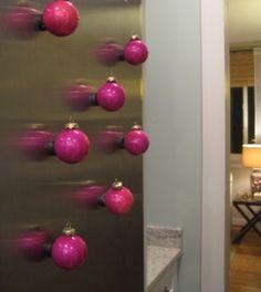 Magnetic ornaments