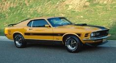 1970 Ford Mustang Mach 1 Twister Special-2