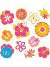 Warm Summer Cutouts Value Pack 12ct-Party City