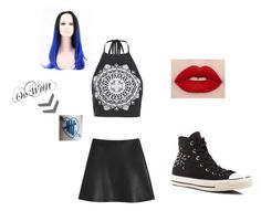 """""""Meeting 5SOS"""" by mdeek on Polyvore featuring Boohoo, Mulberry and Converse"""