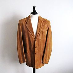 The Californian Mens Vintage 1950's Suede by StraylightVintage