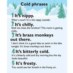 Cold phrases