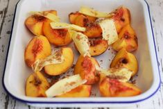 Maggie Beer's Brown Sugar and Butter Baked Peaches