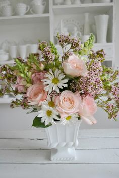 DIY mothers day arrangements
