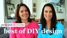 Project Nursery's Best of DIY Design - How to Create a Fabric Wall Art Piece for the Nursery! #DIY #WallArt #HowTo