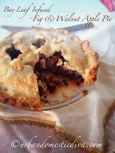 Bay leaf! It's not just for soups and stews! How about apple pie!? The Urban Domestic Diva