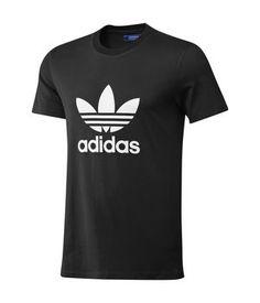 Adidas T-shirt adi Trefoil Tee-Black