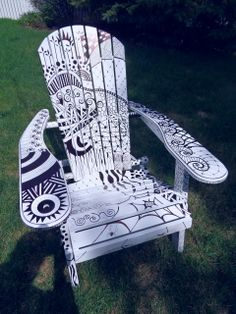 I have always wanted an Adirondack chair but a Tangled one is even better!