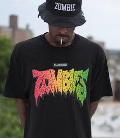Flatbush Zombies OG RASTA LOGO T-Shirt