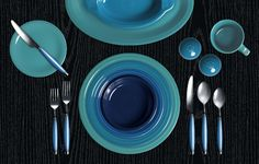 Check out my Colorama by Fiesta® customized table setting! This is my favorite.