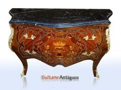 Marble Top Commode: Furniture | eBay