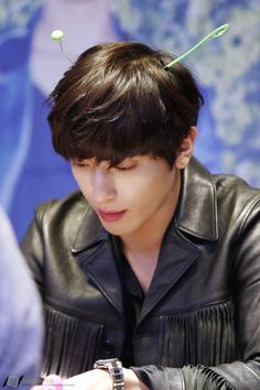"150926 Jung Yong Hwa (CNBLUE) 2nd album ""2gether"" Fan Sign Event at Meongdong, Seoul  """