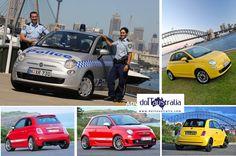 Il fascino della Fiat 500 ha contagiato l'Australia e Sydney in particolare... dove anche la polizia ha scelto la piccola Fiat. Il made in Italy è glamour da queste parti!