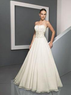 Cynthia-Vestido de Noiva em tecido de seda - dresseshop.pt