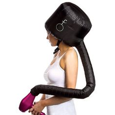 Is this for real?!! Sweeeet! 10 Hair Tools That Cut Drying Time In Half  COOL CAP dry hair for half an hour.