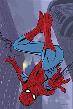 Spidey by Mike Allred