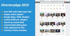 """DirectoryApp is a geolocation aware business directory script written in PHP. With this script you can build """"Yellow Pages"""" type of sites. Create Page, Script Writing, Yellow Pages, Use Case, User Guide, Premium Wordpress Themes, Php, Book Design, Free Design"""