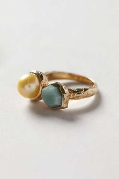 Anthropologie - Pearl Beacon Ring