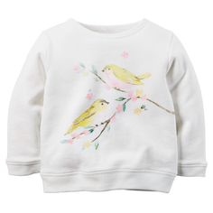 Little Bird French Terry Pullover