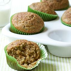 Grab a zucchini muffin on your way out the door for a nutritious and totally delicious breakfast on-the-run.