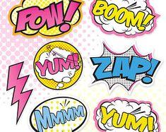 Superhéroe chica signos fiesta personalizados por PartiPartieParty