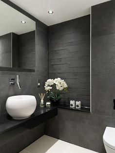 50+ Elegant Modern Bathroom Design Ideas (19