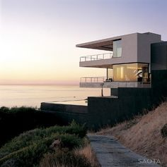 contemporary coastal house for family living entertaining views 1 thumb 630x633 9152 Modern house ideas