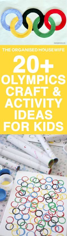 Olympics Craft and Activity Ideas for Kids To get into the spirit of the upcoming games, encourage your kids to craft their own torch or create some of these fun Olympic craft and activities. Winter Games, Winter Activities, Preschool Crafts, Preschool Activities, Preschool Rooms, Olympic Games For Kids, Olympic Idea, Kids Olympics, Winter Olympics