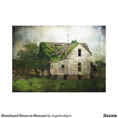Abandoned House in Missouri Canvas Print