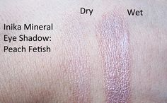 We Were Raised By Wolves: Review: Inika Mineral Eyeshadow in Peach Fetish