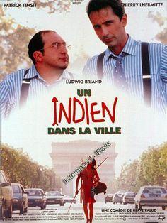 Un Indien dans la ville est un film français d'Hervé Palud, sorti en 1994. Sur le point d'épouser la belle Charlotte, Stéphane Marchado part à la recherche de sa première femme, partie depuis treize ans dans une tribu d'Amazonie pour régulariser son divorce.