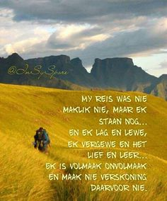 Sea Quotes, Life Quotes, Afrikaans Quotes, Life Lessons, Qoutes, Verses, Inspirational Quotes, Wisdom, Words