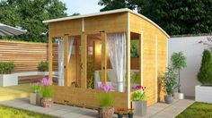 BillyOh 5000 Sunroom Summerhouse Range - 5000 Range - Garden Buildings Direct