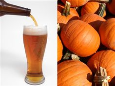 Another reason to love fall? Pumpkin beer. .