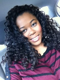 Crochet Hair Names : Crochet Braids. Curly hair. Protective Styling .: IG name: Boston ...