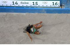 Patrícia Mamona falhou o pódio na prova do triplo salto dos Jogos Olímpicos do…